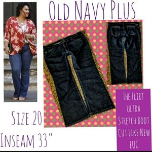 Old Navy Jeans Size 20 The Flirt Boot Cut